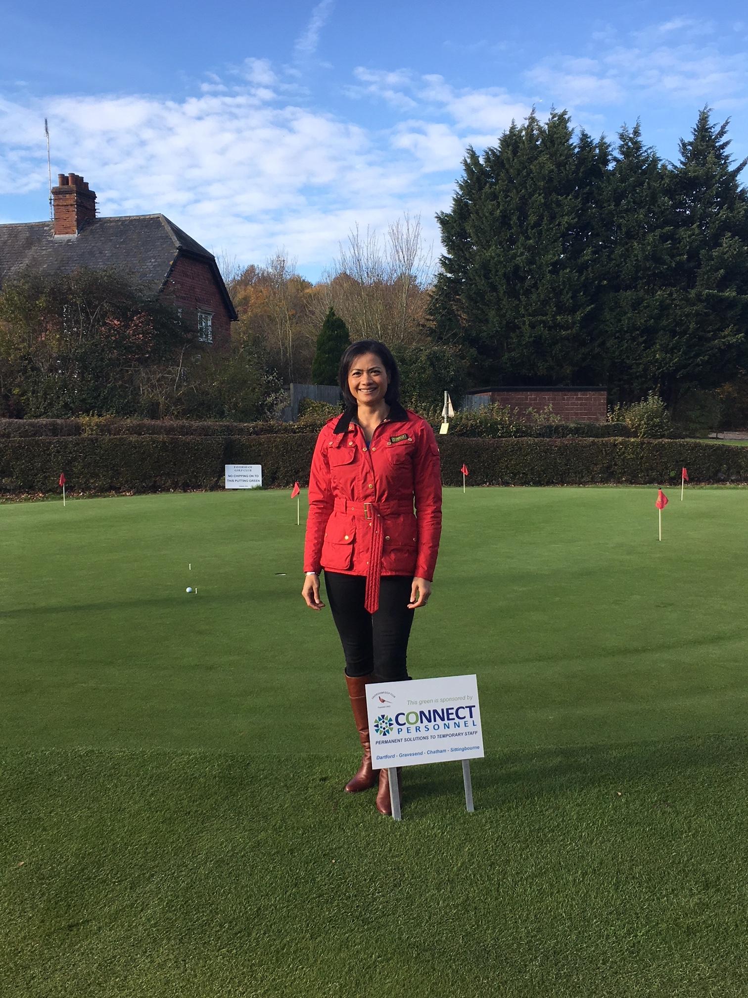 Proudly sponsoring Faversham Golf club